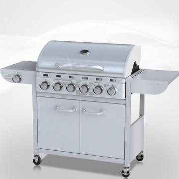 Barbecue gaz inox 6 bruleurs - Cache bruleur barbecue gaz ...