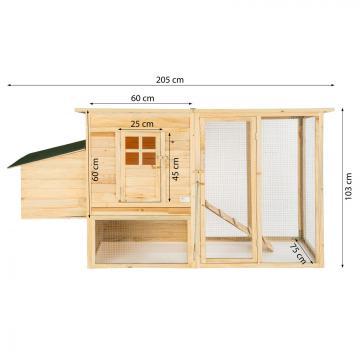 Poulailler - poulailler direct - poulailler en bois
