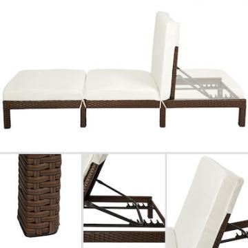 Chaise longue 196x66x22cm
