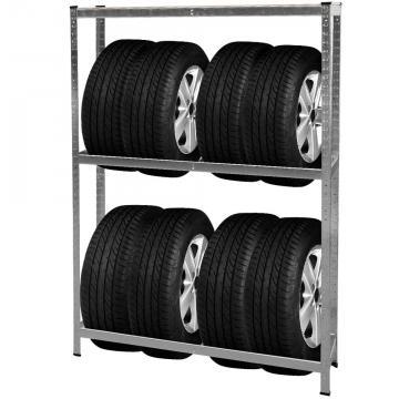 rack a pneu - stockage pneu - support pneu