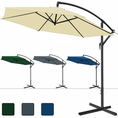 parasol d port parasol excentr. Black Bedroom Furniture Sets. Home Design Ideas
