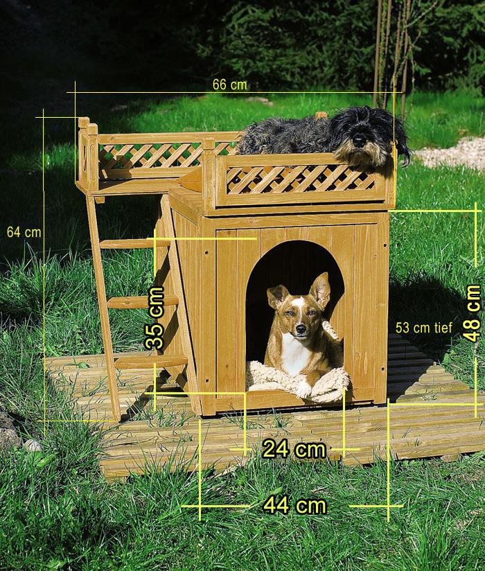 Niche chien - Fabriquer une niche pour chien avec des palettes ...