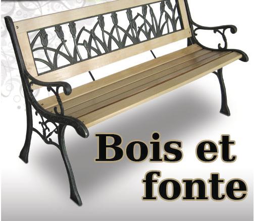 banc de jardin. Black Bedroom Furniture Sets. Home Design Ideas